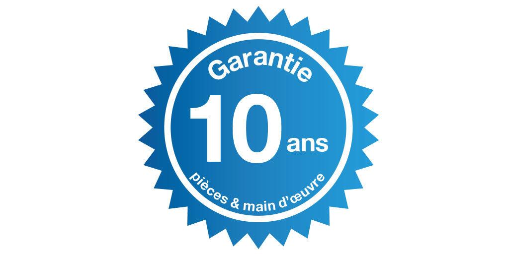 Adoucisseur garantie 10 ans pièces et main d'œuvre